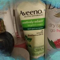 Aveeno® Positively Radiant Targeted Tone Corrector uploaded by Ashley W.