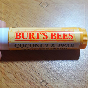 Photo of Burt's Bees Coconut & Pear Lip Balm uploaded by Shayla L.