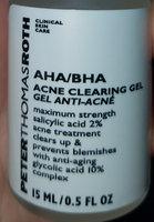 Peter Thomas Roth AHA/BHA Acne Clearing Gel uploaded by Stephanie D.