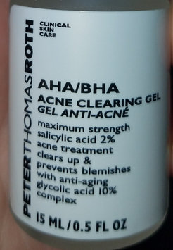 Photo of Peter Thomas Roth AHA/BHA Acne Clearing Gel uploaded by Stephanie D.