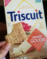 Nabisco Triscuit - Cracker - Baked Whole Grain Wheat Smoked Gouda uploaded by Kate F.