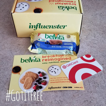 Photo of belVita Blueberry Breakfast Biscuits uploaded by Shelby R.
