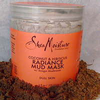 SheaMoisture Coconut & Hibiscus Radiance Mud Mask uploaded by Abigail G.