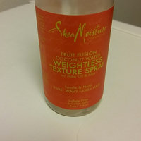 SheaMoisture Fruit Fusion Coconut Water Weightless Texture Spray uploaded by crystal c.