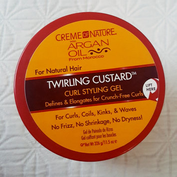 Photo of Creme of Nature with Argan Oil Twirling Custard uploaded by Shenee' M.