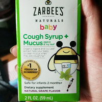 Zarbee's Naturals Baby Grape Cough Syrup + Mucus Reducer - 2.0 oz uploaded by Kaarin V.