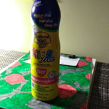 Photo of Banana Boat® Clear UltraMist® Kids Free Broad Spectrum SPF 50+ Continuous Spray Sunscreen 6 oz. Aerosol Can uploaded by Kendra W.