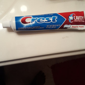 Photo of Crest Cavity Protection Toothpaste uploaded by Tamya Williams