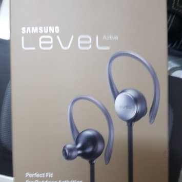 Photo of Samsung - Mobile Accessories Samsung Level Active Earset - Stereo - Black - Wireless - Bluetooth - Earbud, Over-the-ear - Binaural - In-ear uploaded by Záarah k.