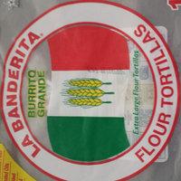 La Banderita Burrito Grande Extra Large Flour Tortillas - 10 CT uploaded by naf C.