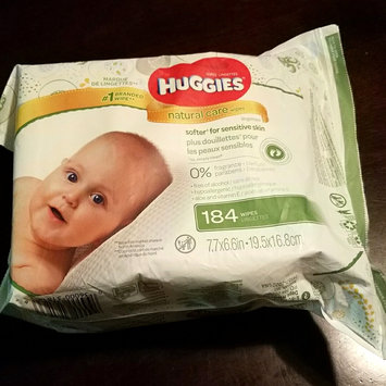Photo of Huggies® Natural Baby Care Wipes uploaded by Breanne D.