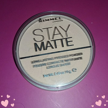 Photo of Rimmel London Stay Matte Pressed Powder uploaded by DeAnna L.