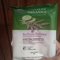 Avalon Organics Brilliant Balance With Lavender & Prebiotics Purifying Towelettes uploaded by Emily T.