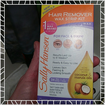Photo of Sally Hansen Wax Strips Hair Remover Kit For Face uploaded by Lisa M.