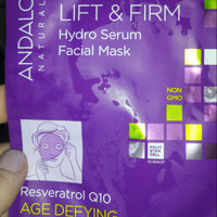Andalou Naturals Instant Lift & Firm Hydro Serum Facial Mask, 0.6 Oz uploaded by Shauna G.
