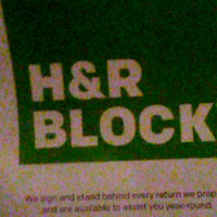 H&R Block uploaded by Kristi C.