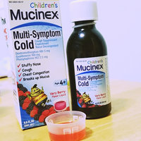 Childrens Mucinex Multi-Symptom Cold Liquid Very Berry uploaded by miss R.