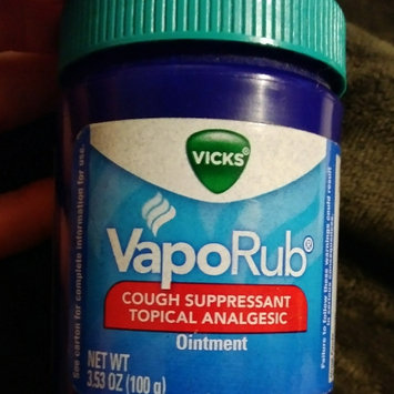 Photo of Vicks® VapoRub™ Topical Cough Suppressant uploaded by Lisa M.