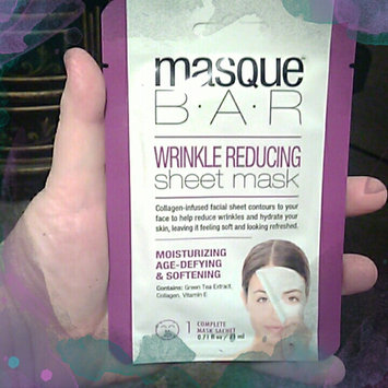 Photo of Masque Bar by Look Beauty Wrinkle Reducing Sheet Mask - 3 Mask Sachets uploaded by Kelli B.