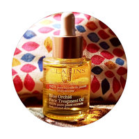 Clarins Blue Orchid Face Treatment Oil uploaded by krista b.