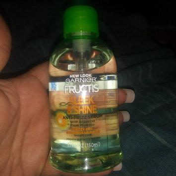Photo of Garnier Fructis Sleek & Shine Anti-frizz Serum uploaded by Kristin B.