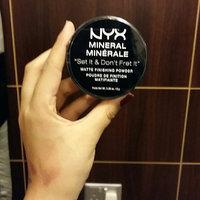 NYX Mineral Finishing Powder uploaded by Reem M.