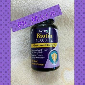 Photo of Biotin Natrol  Fast Dissolve Cherry Flavored Supplement 1 uploaded by mero B.