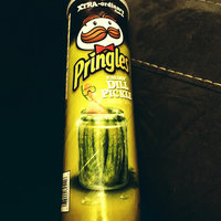 Pringles® Xtra Screamin' Dill Pickle Potato Crisps uploaded by Meg N.