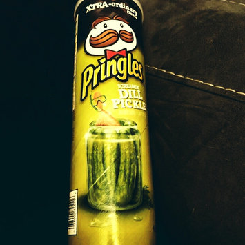 Photo of Pringles® Xtra Screamin' Dill Pickle Potato Crisps uploaded by Meg N.