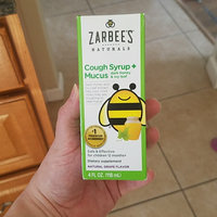 Zarbee's Naturals Children's Grape Cough Syrup + Mucus Relief - 4 oz uploaded by Joanne H.