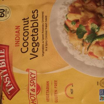Photo of Tasty Bite Heat & Eat Indian Cuisine Entr e - Hot & Spicy Coconut Vegetables - 10 oz uploaded by naf C.