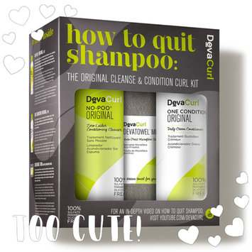 Photo of DevaCurl How To Quit Shampoo: The Original Cleanse & Condition Curl Kit uploaded by mero B.