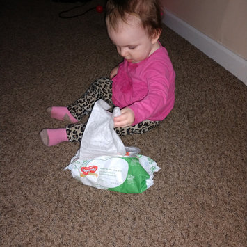 Photo of Huggies® Natural Baby Care Wipes uploaded by Chenoah W.