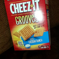 Cheez-It Grooves® Sharp White Cheddar uploaded by Lakeshia R.