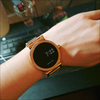 Sofie Pave Rose Gold-Tone Smartwatch uploaded by Emi Y.