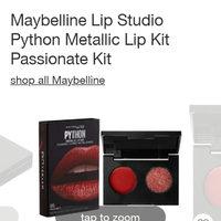 Maybelline New York Lip Studio Python Metallic Lip Kit uploaded by Domonique H.