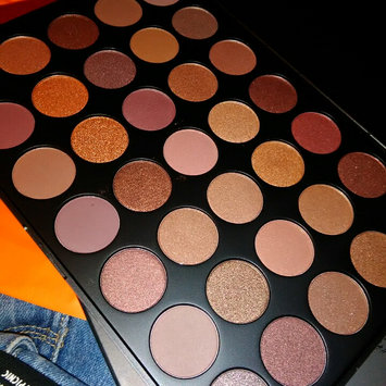 Photo of Morphe 35T - 35 Color Taupe Eyeshadow Palette uploaded by Larri J.