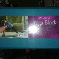 Lotus FOAM YOGA BLOCK LOTUS - WEIDER HEALTH AND FITNESS uploaded by Christian W.
