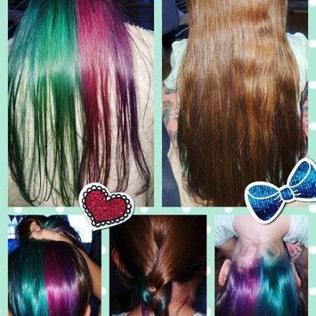 Photo uploaded to Splat Ombre Hair Color Kit by Elena P.