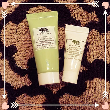 Photo of Origins A Perfect World™ Age-Defense Eye Cream with White Tea uploaded by Kayla D.