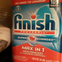 Finish Powerball Tab Automatic Dishwasher Detergent, Fresh Scent, 32 Tabs, 3 Count uploaded by Erin M.