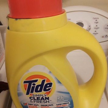 Photo of Tide Simply Clean And Fresh Liquid Daybreak Fresh Laundry Detergent uploaded by Erin M.