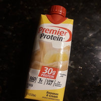 Premier Protein® Bananas & Cream High Protein Shake 4-11 fl. oz. Aseptic Cartons uploaded by Erin M.