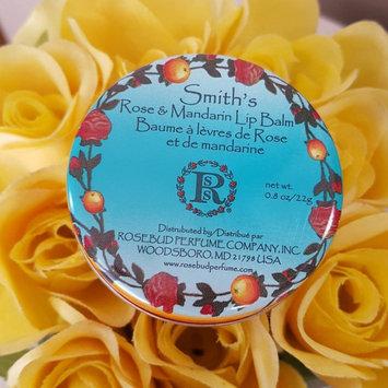 Photo of Rosebud Perfume Company Rosebud Perfume Co. Rose & Mandarin Lip Balm uploaded by Magen C.
