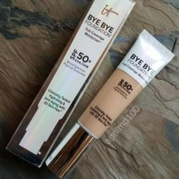 Photo of IT Cosmetics® Bye Bye Foundation Full Coverage Moisturizer™ with SPF 50+ uploaded by April D.