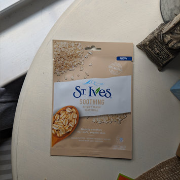 Photo of St. Ives Soothing Oatmeal Sheet Mask uploaded by Emily V.