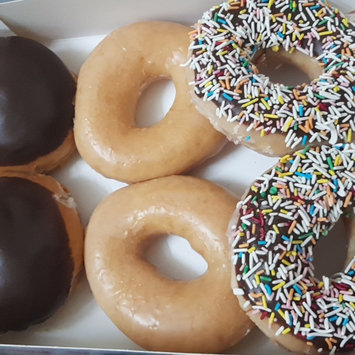 Photo of Krispy Kreme 6 Count Chocolate Iced Creme Filled Doughnuts Pack of 2 uploaded by Záarah k.