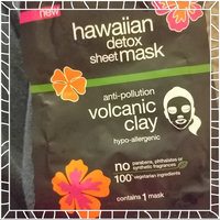 Alba Botanica Hawaiian Detox Sheet Mask Anti-pollution Volcanic Clay uploaded by Kasey J.