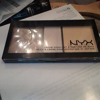 NYX Cream Highlight & Contour Palette uploaded by Katrina D.