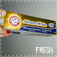 ARM & HAMMER™  Dental Care Advance White Extreme Whitening Baking Soda & Peroxide Toothpaste,Fresh Mint uploaded by Isabelle G.